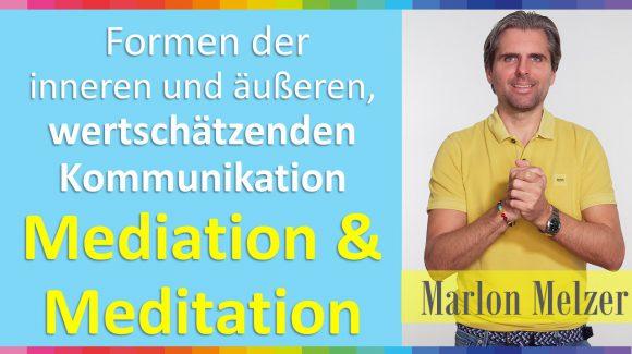 Wie uns die Meditation und Mediation in ein Zeitalter der Mitte führen.